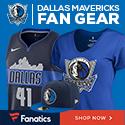 Shop Dallas Mavericks Gear at Fanatics.com