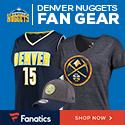 Shop Denver Nuggets Gear at Fanatics.com