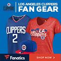 Shop LA Clippers Gear at Fanatics.com