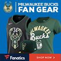 Shop Milwaukee Bucks Gear at Fanatics.com