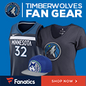 Shop Minnesota Timberwolves Gear at Fanatics.com