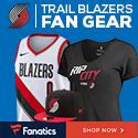 Shop Portland Trail Blazers Gear at Fanatics.com