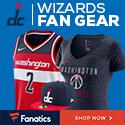 Shop Washington Wizards Gear at Fanatics.com