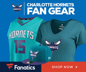 Shop Charlotte Hornets Gear at Fanatics.com