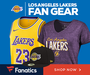 Shop Los Angeles Lakers Gear at Fanatics.com