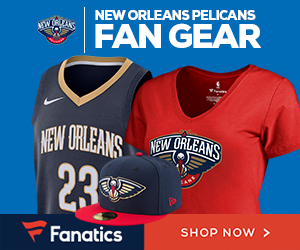 Shop New Orleans Pelicans Gear at Fanatics.com