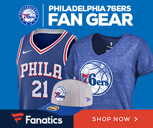 Shop Philadelphia 76ers Gear at Fanatics.com