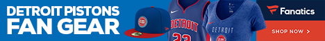 Shop Detroit Pistons Gear at Fanatics.com