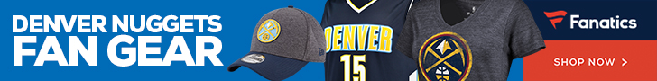 Shop Denver Nuggets Gear at Fanatics.com