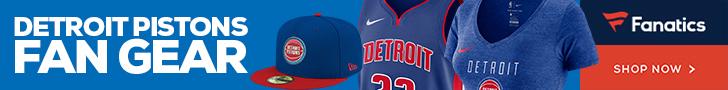 Shop Detroit Pistons Gear at Fanatics.com