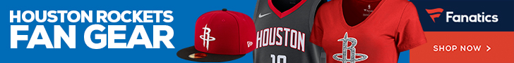 Shop Houston Rockets Gear at Fanatics.com