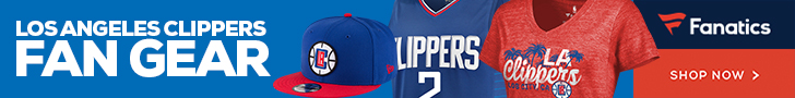 Shop LA Clippers Gear at Fanatics.com