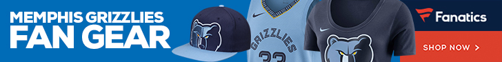 Shop Memphis Grizzlies Gear at Fanatics.com
