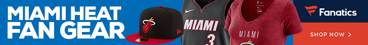 Shop Miami Heat Gear at Fanatics.com