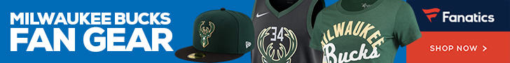Shop Milwaukee Bucks Gear at Fanatics.com