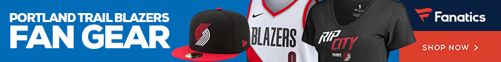 Shop Portland Trail Blazers Gear at Fanatics.com