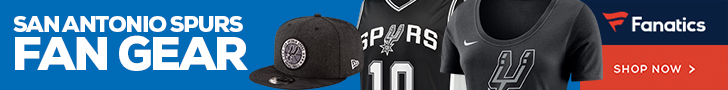 Shop San Antonio Spurs Gear at Fanatics.com