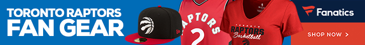 Shop Toronto Raptors Gear at Fanatics.com