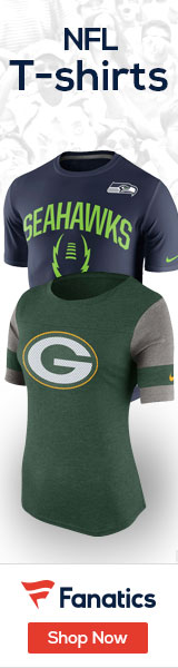 Shop NFL T-shirts at Fanatics.com