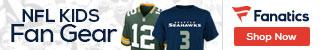Shop for NFL Kids gear at Fanatics.com