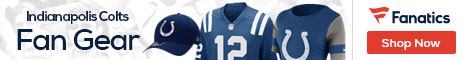 Shop for Indianapolis Colts gear at Fanatics.com