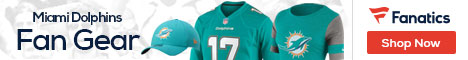 Shop for Miami Dolphins gear at Fanatics.com