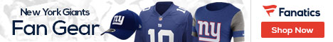 Shop for New York Giants gear at Fanatics.com