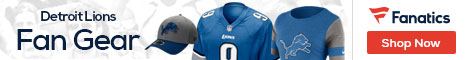 Shop for Detroit Lions gear at Fanatics.com