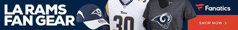 Shop for Los Angeles Rams gear at Fanatics.com