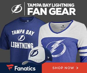 Shop for Tampa Bay Lightning Gear at Fanatics.com