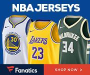 Get your 2017 NBA x Nike Jerseys at Fanatics!