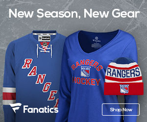 New York Rangers NHL East Champs