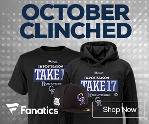 Colorado Rockies 2017 Postseason Gear