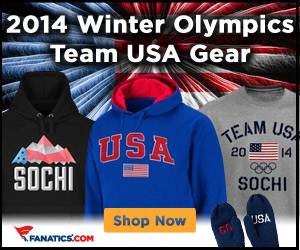 Shop Team USA 2014 Winter Olympic gear at Fanatics.com!