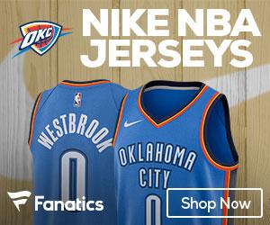 Oklahoma City Thunder 2017-2018 Nike Jerseys