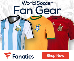 Shop for World Soccer Fan Gear at Fanatics.com