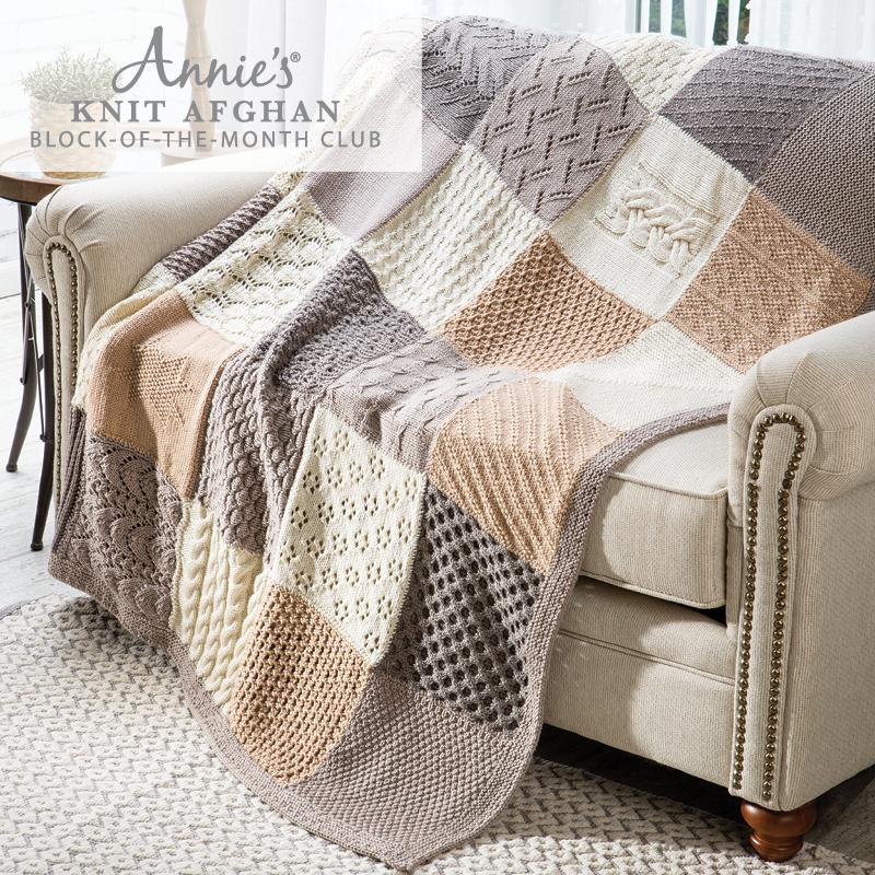 Annie's Knit Afghan club