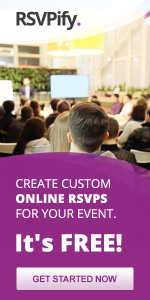 Online RSVPs for Corporate Events