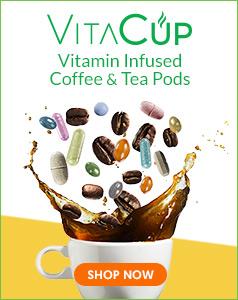 VitaCup: Vitamin Infused Coffee & Tea Pods