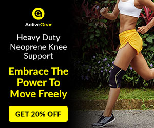 20% Off Neoprene Knee Sleeve