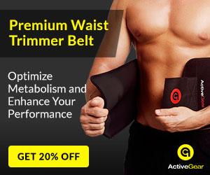 20% off Premium Waist Trimmer Belt Was: $19.95 Now: $15.96.