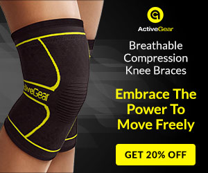 20% off Knee Compression Sleeve Was: $9.95 Now: $7.96.