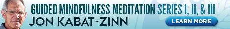 Jon Kabat-Zinn Meditation series 123