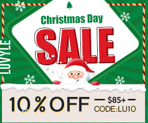 Christmas Day 10% off $85+ at Luvyle, Code:lu10