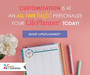 lifeplanner by Erin Condren