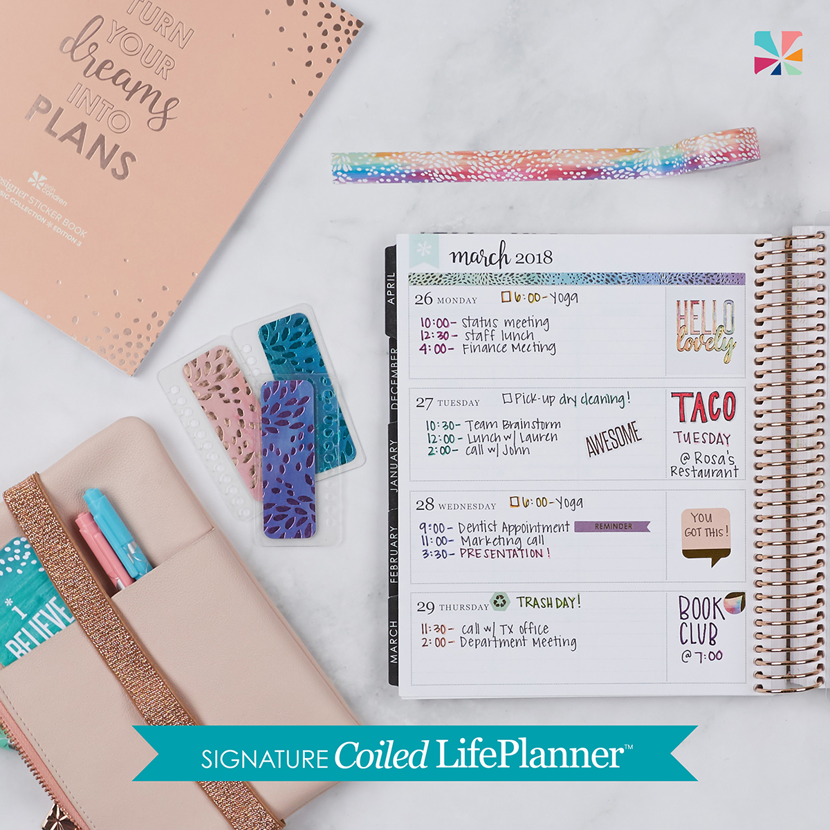 10 etsy sticker shops you need for your erin condren planner