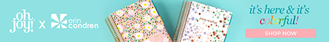floral covered planner books from erin condren