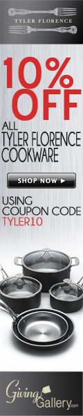 Save 10% on all Tyler Florence Cookware Today!