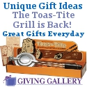 Always Unique Gift Ideas like the Toas-Tite Grill @ GivingGallery.com