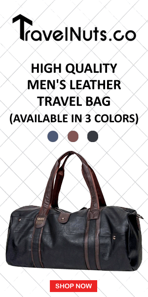 High Quality Men's Leather Travel Bag (Available in 3 Colors) - Travel Nuts